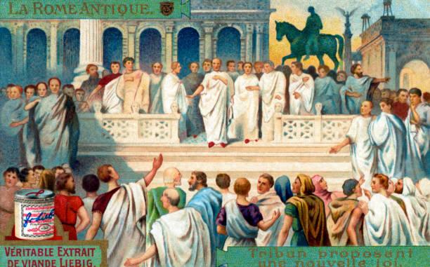 Tribune in the Roman Republic: Proposing a law.:ニュース(壁紙.com)