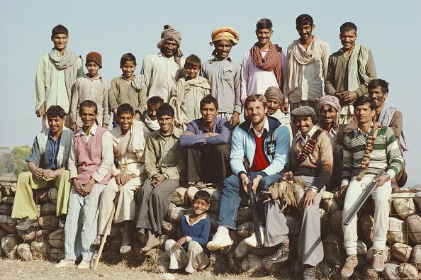 Photography「England Cricketer Ian Botham with beaters on a Patridge Shoot India January 1982」:写真・画像(3)[壁紙.com]