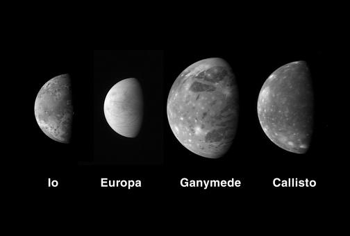 Solar System「Jupiter's Galilean moons.」:スマホ壁紙(6)