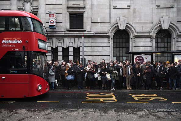 Bus「London Commuters Face Strike Action Travel Disruption」:写真・画像(13)[壁紙.com]