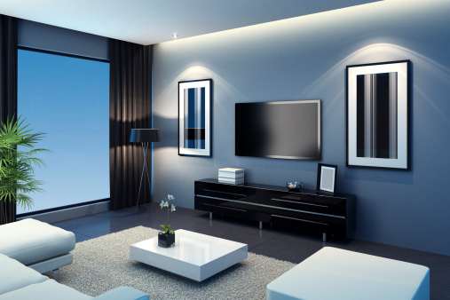 Funky「Cool TV Room」:スマホ壁紙(2)