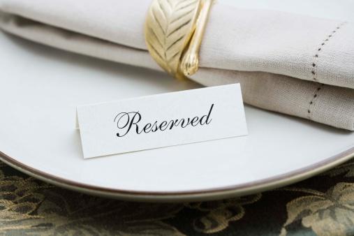 Reserved Sign「Elegant table setting」:スマホ壁紙(13)