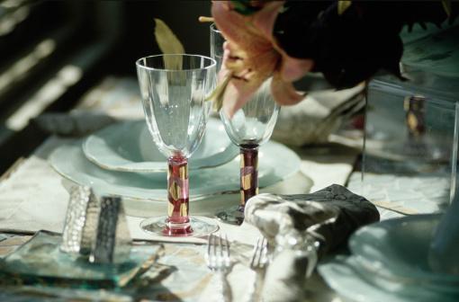 Fashion「Elegant table setting, Santa Cruz, CA」:スマホ壁紙(2)