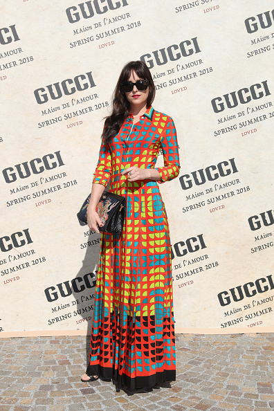Fashion Week「Gucci - Arrivals - Milan Fashion Week Spring/Summer 2018」:写真・画像(19)[壁紙.com]