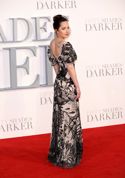 "Alternative Pose「""Fifty Shades Darker"" - UK Premiere - Red Carpet Arrivals」:写真・画像(17)[壁紙.com]"
