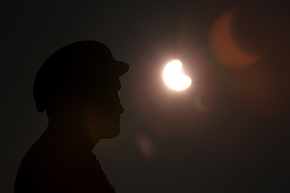 Part Of「Rare Partial Solar Eclipse Is Viewed Around The UK」:写真・画像(13)[壁紙.com]