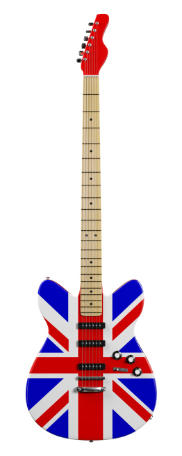 Electric Guitar「British Electric Guitar」:スマホ壁紙(4)