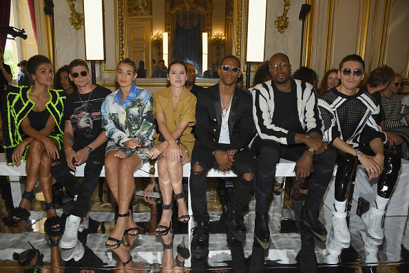 Balmain「Balmain: Front Row - Paris Fashion Week - Menswear Spring/Summer 2019」:写真・画像(18)[壁紙.com]