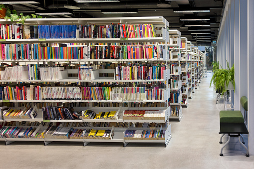 21st Century「Estonia, Parnu, inside view of Public library」:スマホ壁紙(5)