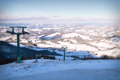 スノーボード「Winter mountain landscape」:スマホ壁紙(4)