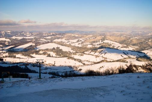 スノーボード「Winter mountain landscape」:スマホ壁紙(10)