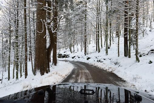 Avenue「winter mountain roads 3」:スマホ壁紙(4)