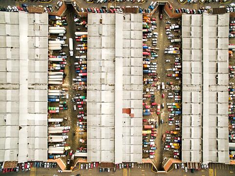 Mode of Transport「Mercado de Abastos, Mexico City」:スマホ壁紙(4)