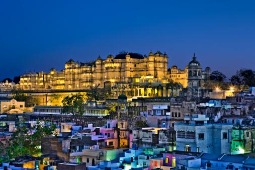 Rajasthan「City Palace Udaipur India」:スマホ壁紙(12)