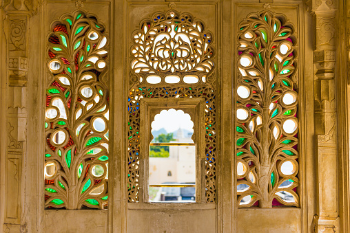 Rajasthan「City Palace, Udaipur, Rajasthan, India」:スマホ壁紙(2)