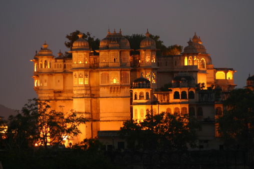 Rajasthan「City Palace」:スマホ壁紙(17)