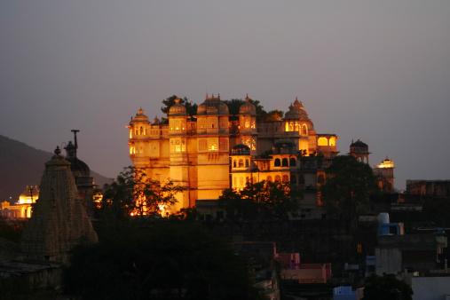 Rajasthan「City Palace」:スマホ壁紙(9)