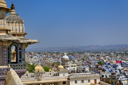 Rajasthan「City Palace above Udaipur」:スマホ壁紙(17)