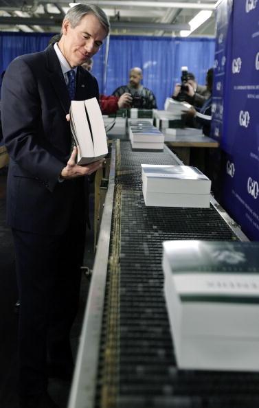 Chip Somodevilla「FY2008 Budget Rolls Off The Printing Press In Washington」:写真・画像(7)[壁紙.com]