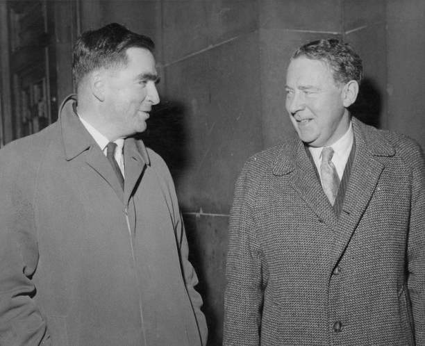 政治と行政「Hugh Gaitskell And Denis Healey」:写真・画像(14)[壁紙.com]