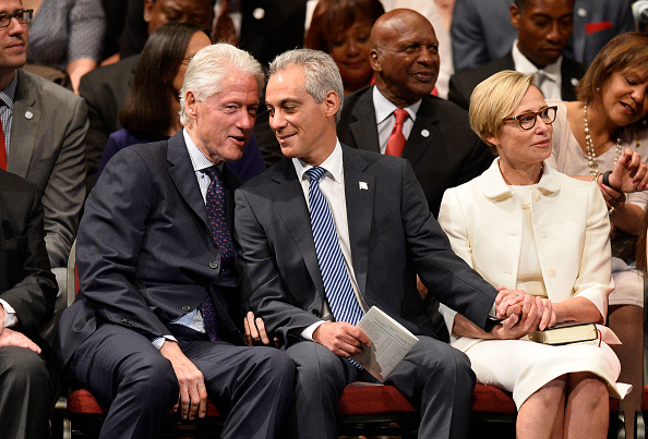 Brian Cook「Rahm Emanuel Inaugurated For Second Term As Chicago Mayor」:写真・画像(3)[壁紙.com]