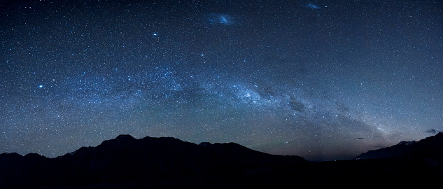 New Zealand「New Zealand, starry sky, milkyway at night」:スマホ壁紙(9)