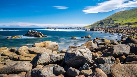 New Zealand「New Zealand, South Island, Southern Scenic Route, Orepuki, Cosy Nook Beach」:スマホ壁紙(16)