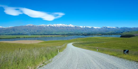 ニュージーランド南アルプス「ニュージーランドの湖の風景」:スマホ壁紙(16)