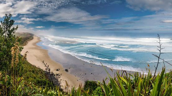 New Zealand「New Zealand, North Island, view to Maunganui Bluff Beach」:スマホ壁紙(17)