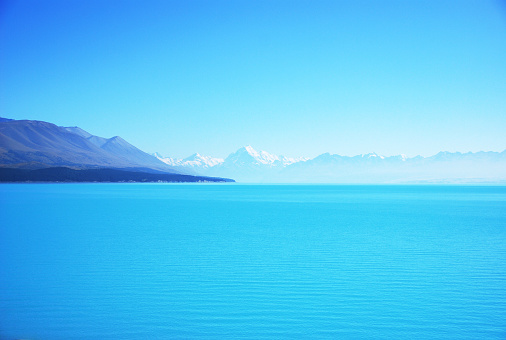 Mt Cook「New Zealand, South Island, Lake Tekapo and Mount Cook in distance」:スマホ壁紙(14)