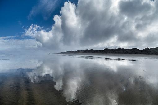 90マイルビーチ「New Zealand, North Island, Ninety Mile Beach」:スマホ壁紙(15)