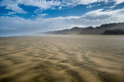 90マイルビーチ「New Zealand, North Island, Ninety Mile Beach」:スマホ壁紙(14)
