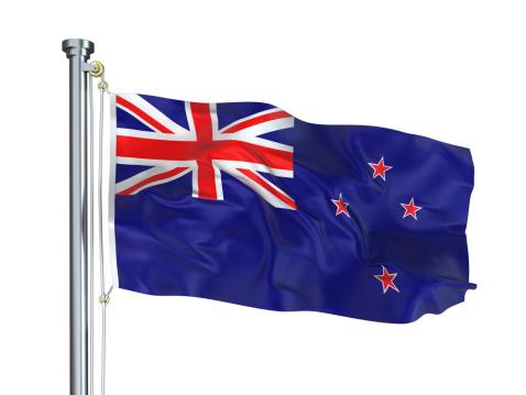 Pole「New Zealand Flag」:スマホ壁紙(17)