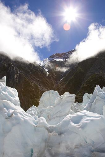 Franz Josef Glacier「New Zealand, South Island, Franz Josef Glacier, ice formations」:スマホ壁紙(12)