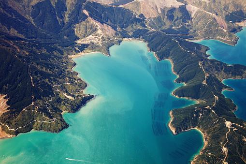 New Zealand「New Zealand aerial view」:スマホ壁紙(0)