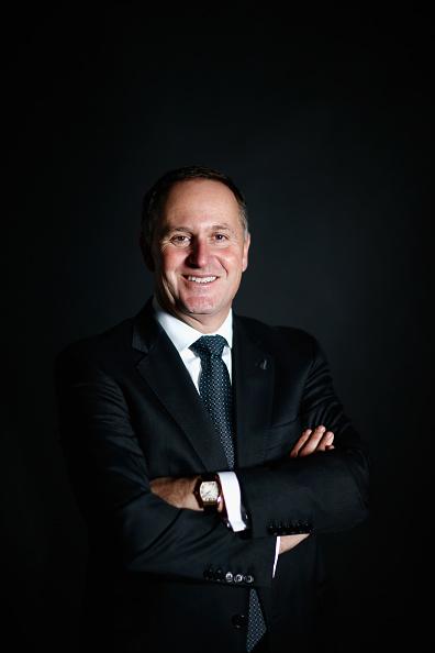 Phil Walter「Prime Minister John Key Portrait Session」:写真・画像(2)[壁紙.com]