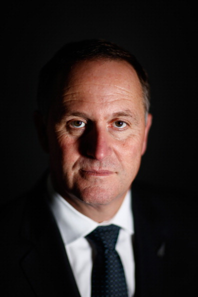 Phil Walter「Prime Minister John Key Portrait Session」:写真・画像(0)[壁紙.com]
