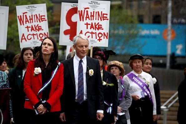 Dawn「Prime Minister Jacinda Ardern Celebrates 125 Years  Of Women's Suffrage」:写真・画像(4)[壁紙.com]