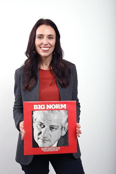 カメラ目線「Portraits Of New Zealand Labour Party Leader Jacinda Ardern」:写真・画像(13)[壁紙.com]