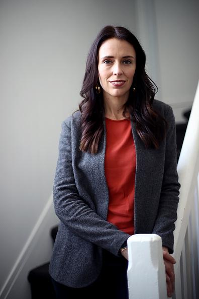 カメラ目線「Portraits Of New Zealand Labour Party Leader Jacinda Ardern」:写真・画像(11)[壁紙.com]