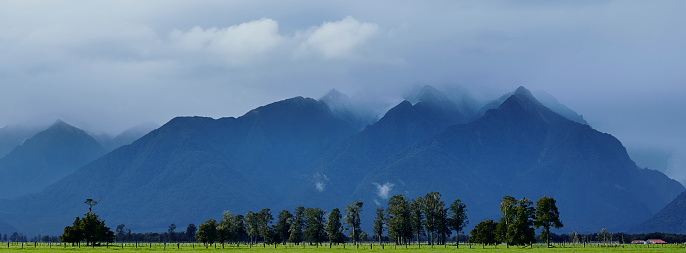 Westland - South Island New Zealand「New Zealand, Westland, Westland National Park.」:スマホ壁紙(10)