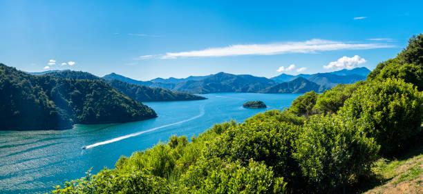 New Zealand, South Island, Marlborough Sounds, Waikana Bay:スマホ壁紙(壁紙.com)