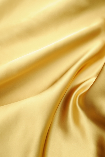 Gold Colored「Crumpled gold satin texture background」:スマホ壁紙(8)