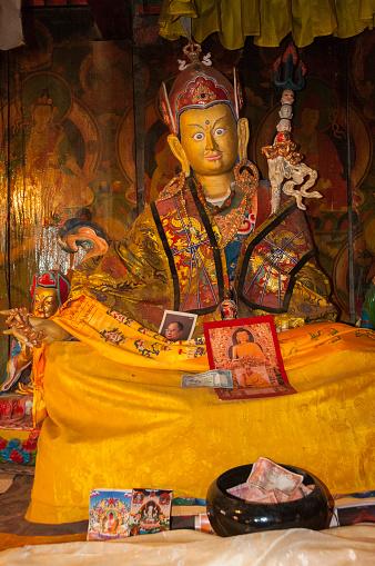 Namche Bazaar「monastery image of Padmasambhava」:スマホ壁紙(16)