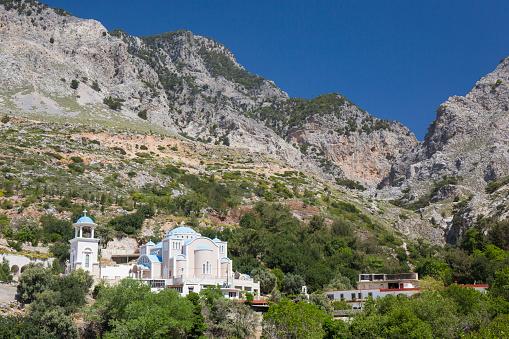 Greek Orthodox「Monastery in the Rouvas Gorge, Zaros, Crete」:スマホ壁紙(14)