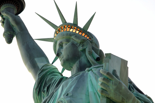 Crown - Headwear「Statue of Liberty - close up」:スマホ壁紙(13)