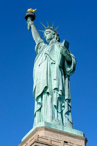 炎「Statue of Liberty, New York City」:スマホ壁紙(1)
