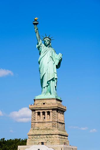 炎「Statue of Liberty, New York City」:スマホ壁紙(2)
