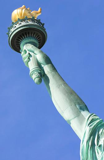 炎「Statue of Liberty, Liberty Island National Monument, Upper New York Bay, New York City, USA」:スマホ壁紙(15)