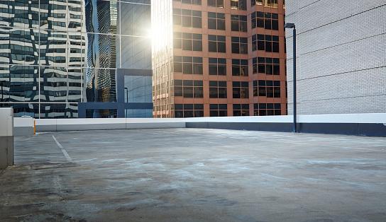 Rooftop「Inner city parking lot」:スマホ壁紙(1)